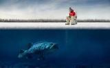 Зимова риболовля в Нягані: фото і відгуки