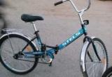 Огляд складного велосипеда STELS Pilot 710